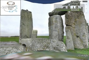 Snapshot of the 360 degree view from the Stone Circle