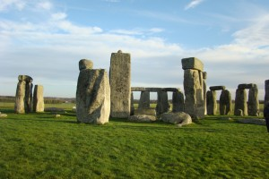 Stonehenge in the sunshine