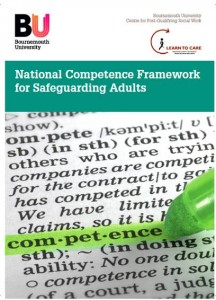 National Competence for Safeguarding Adults front cover