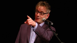 John Hegley Performing