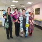 Event organisers (L-R) Judith Chapman, Maggie Hutchings, Jen Leamon & Ann Quinney