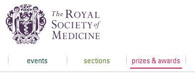 Royal society medicine prizes