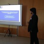 PGR Hammad Nazir presenting
