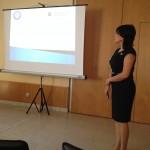 SDRC Erasmus Mundus Exchange Student Parisa Pashaei presenting