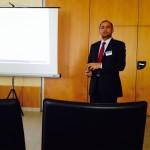 Dr Zulfiqar Khan presenting