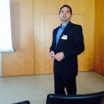 Dr Adil Saeed presenting