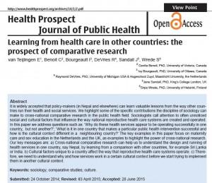 health Prospect 2015