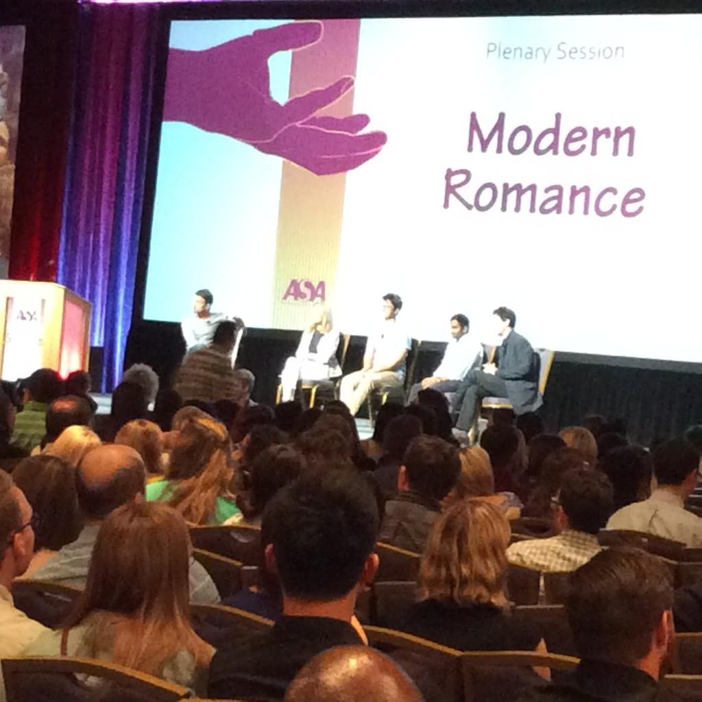 ASA Keynote Modern Romance