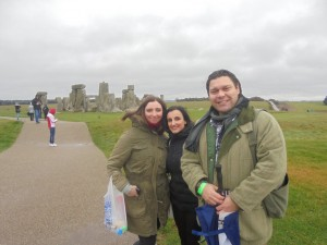 Sociology students at Stonehenge