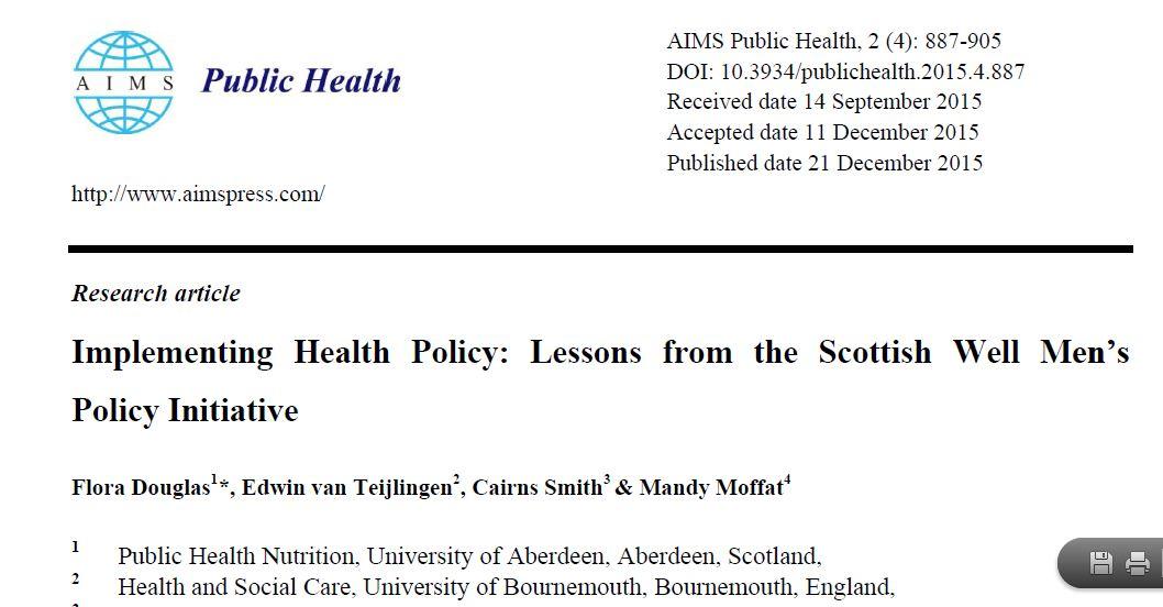 international public health essay