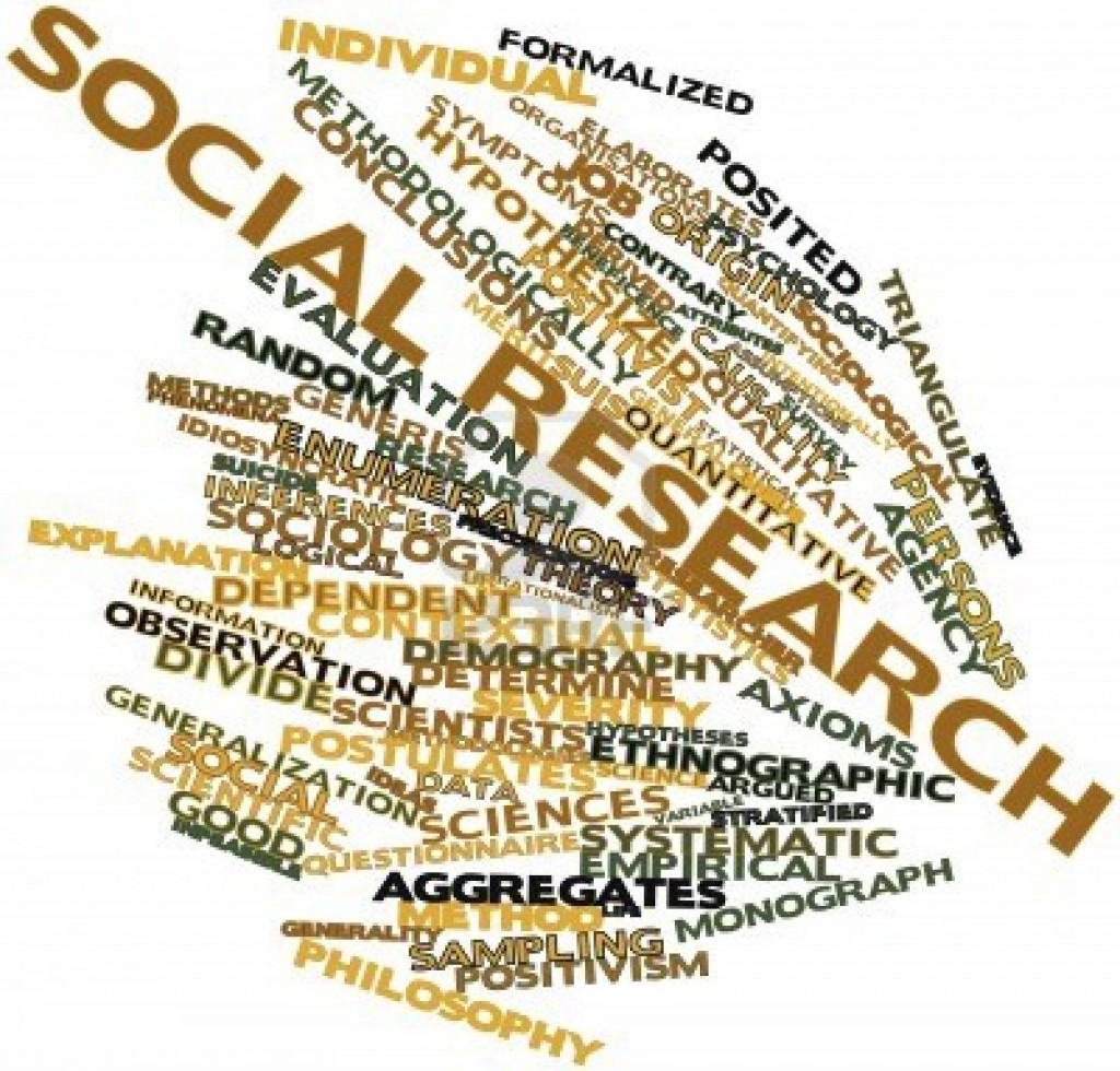 social research thesis Developing a thesis statement you then can adjust your research or your thesis statement as o examine a decision's place in a larger social or historical.