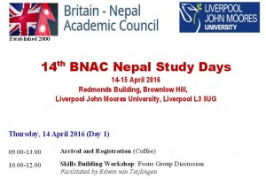 Reminder: early bird discount for the... - Britain-Nepal ...
