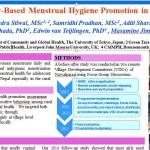 Poster menstrual hygiene 2016
