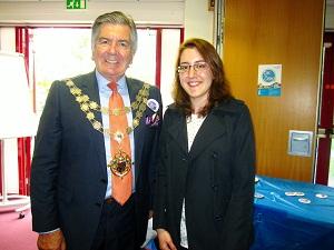 Yolanda and the Mayor on 16 May resized