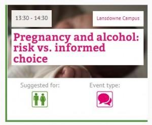 Fol pregnancy +alcohol