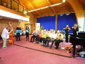 Orchestra Sarah Singing