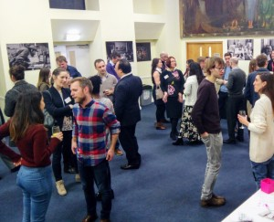 Networking session in full swing