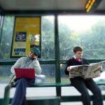 Social Media 'on the go': Examining the impact of age