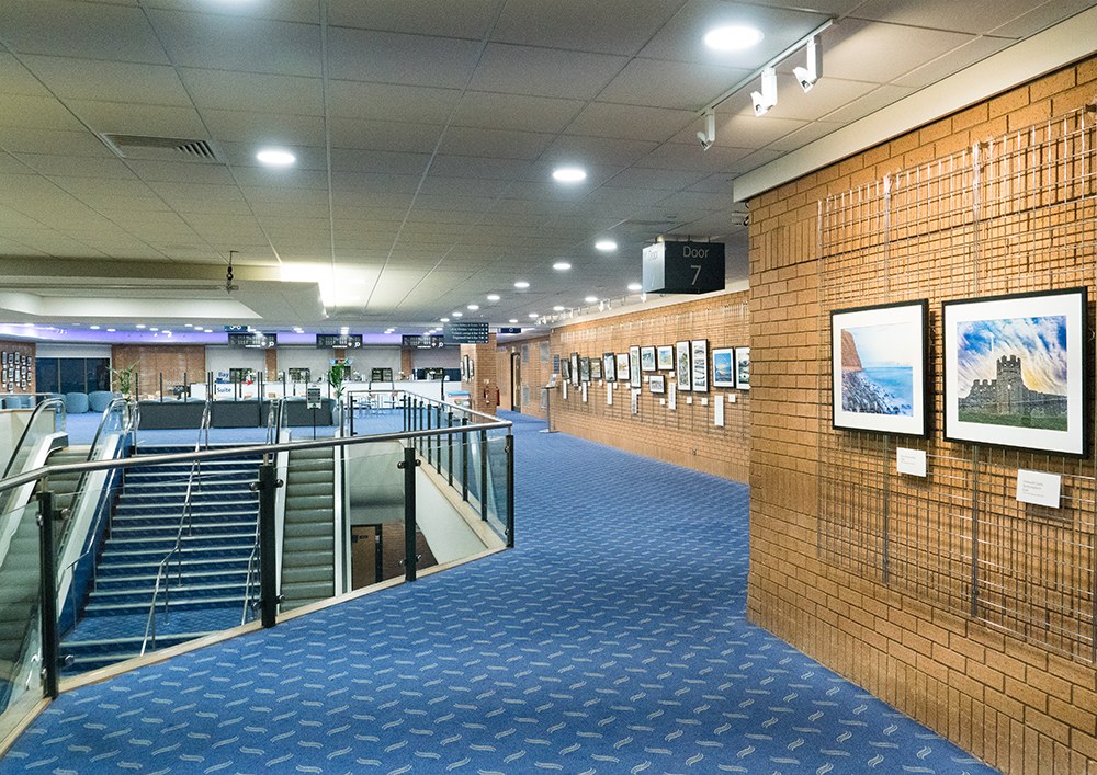 'LandEscapes - Treading on the line of fantasy and realism' - A high dynamic range landscape photography exhibition at the Bournemouth International Centre
